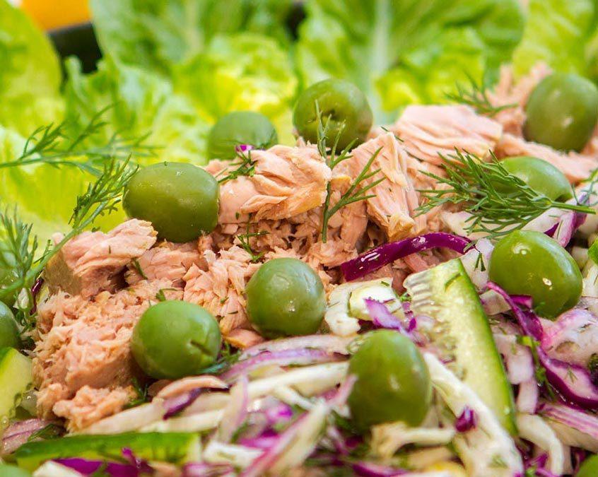 Tuna & Olive Salad